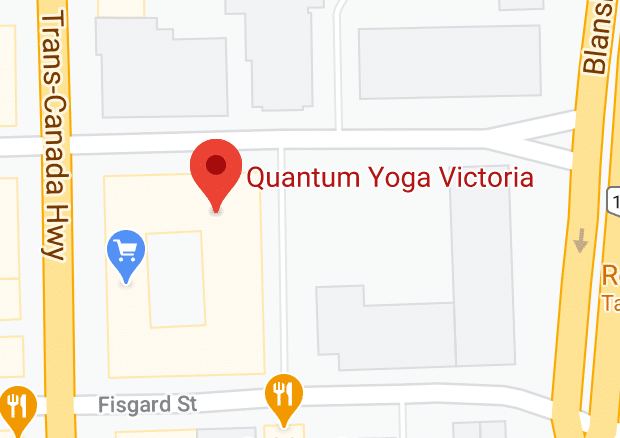 Quantum Yoga Victoria Map